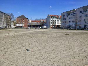 Ansicht des Lucie-Flechtmann-Platzes 2012 (Foto: Daniel Schnier)